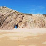 Vue de la côte sur l'île de Houat